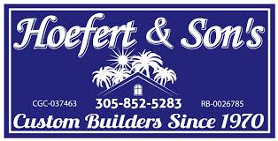 Hoefert & Sons, Inc , General Contractors,  Quality Construction –  Home Builders – Remodeling Logo